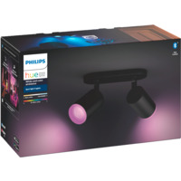 Philips Hue WCA Fugato Dobbel Spotlight Sort 5.7W BLT