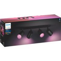 Philips Hue WCA Fugato Firedobbel Spotlight Sort 5.7W BLT