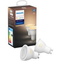 Philips Hue WA GU10 Lyskilde 6W 2pk BLT