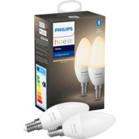 Philips Hue W E14 Lyskilde 5.5W 2pk BLT
