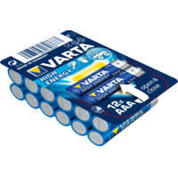 Batteri Varta High Energy LR03/AAA 12-PK