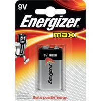 Batteri 6LR61 9V/522 1pk ENERGIZER MAX