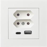 Plus USB lader/2xEuro I PH
