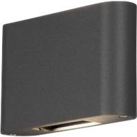 Chieri Led Vegglampe 2x6W Antracit Justerbar Lysspredning