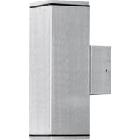 Monza vegglampe aluminium opp/ned kvadratisk GU10 IP44