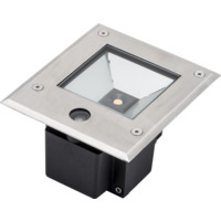 Ground bakkespot 230V 9W LED m sensor IP65
