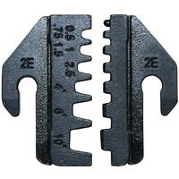 Pressbakke for endehylser 0.5-10mm²