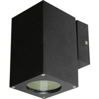 Utelampe Veggspot Atrix Enkel Svart 3W LED GU10 IP44