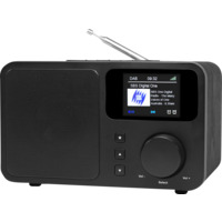 DAB+/FM Radio med Bluetooth Sort DB-230C