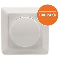 LED Dimmer 250W 1-pol 100 PK