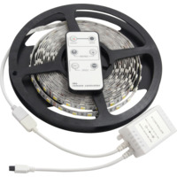 LED Strip Varmhvit-Kaldhvit 5m IP20 IR