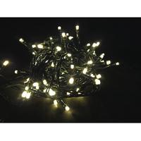 Juleslynge 40 LED varmhvit svart kabel IP44