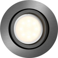 Philips Shellbark LED DL 4.5W Rund Grå