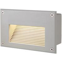 SLV Brick Downunder Innfelt Vegglampe 3000K IP54 Hvit