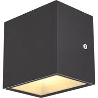 SLV Sitra Cube Vegglampe 3000K IP44 Antrasitt