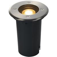 SLV Solasto 120 Utendørs Nedfellingslampe GU10 IP67 Grå