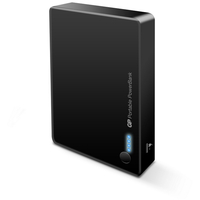 GP381 Portable Powerbank Black 8400mAh