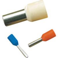 Isolert endehylse 6mm² Lengde 12mm 10-Stk