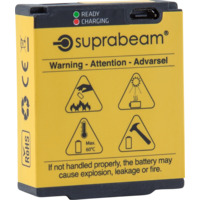 SUPRABEAM BATTERI V3/V4 PRO R LI-PO 2800 MAH USB