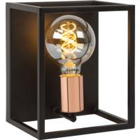 Lucide Arthur Vegglampe E27 40W Sort