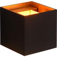 Lucide Xio Vegglampe firkantet G9 Sort