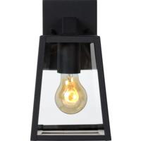 Lucide Matslot Vegglampe IP23 E27 Sort