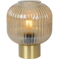 Lucide Maloto Bordlampe 20cm E27 Messing/Glass