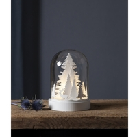 Kuppel med trær - Hvit