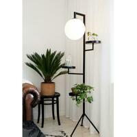 Astoria gulvlampe - Sort