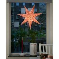 Papir stjerne 60 rød