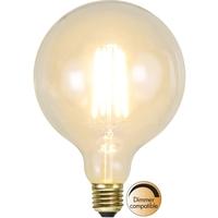 Klar Glob LED Filament 125mm