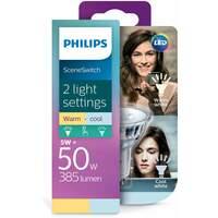 Philips SceneSwitch LED Kaldhvit og varmhvit Spot, GU10